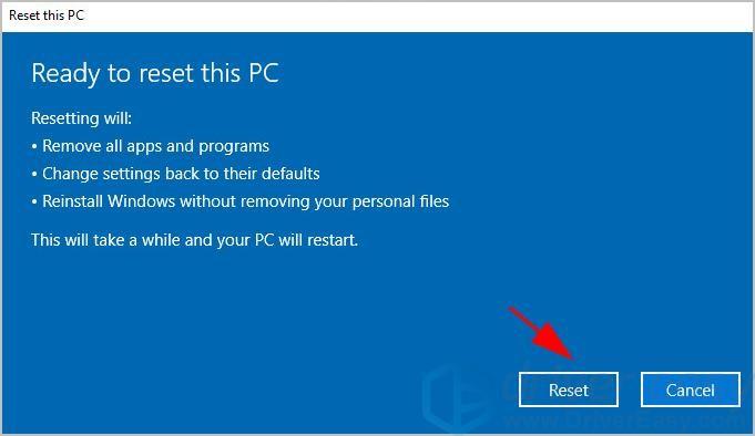 How to Factory Reset Lenovo Laptop Windows 10